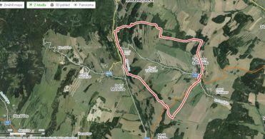 Pozemek, Václavov u Bruntálu / Horní Václavov - mapa.jpg