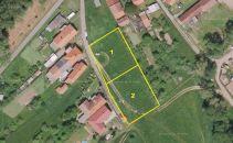 Stavební pozemek na prodej, Žleby / Zehuby
