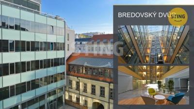 Komerční nemovitost, Praha / Nové Město - Pohled do vnitrobloku