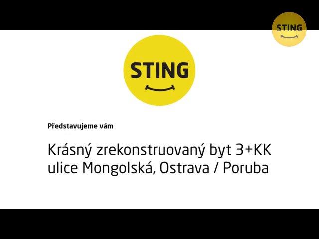 Byt 3+kk na prodej, Ostrava / Poruba, ulice Mongolská