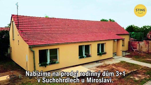 Rodinný dům na prodej, Suchohrdly u Miroslavi