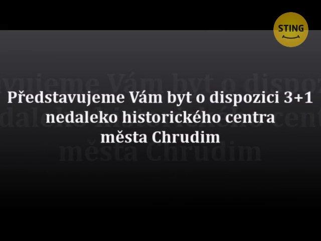Byt 3+1 na prodej, Chrudim / Chrudim II, ulice Svěchyňova