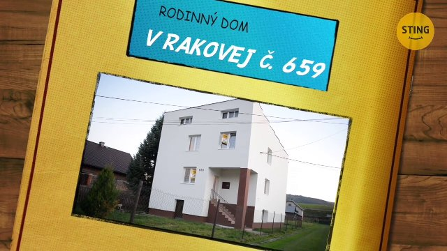 Rodinný dom na predaj, Raková