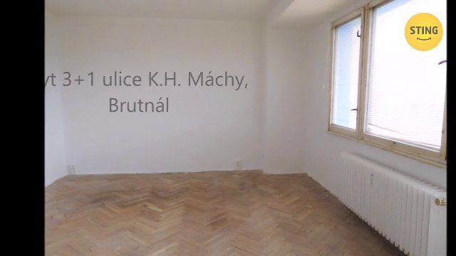 Byt 3+1, Bruntál - video prohlídka