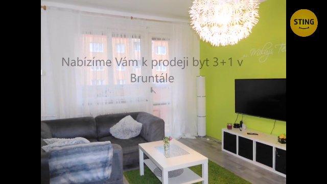 Byt 3+1 na prodej, Bruntál / Pionýrská
