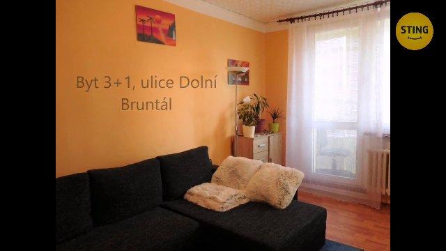 Byt 3+1 na prodej, Bruntál / Dolní
