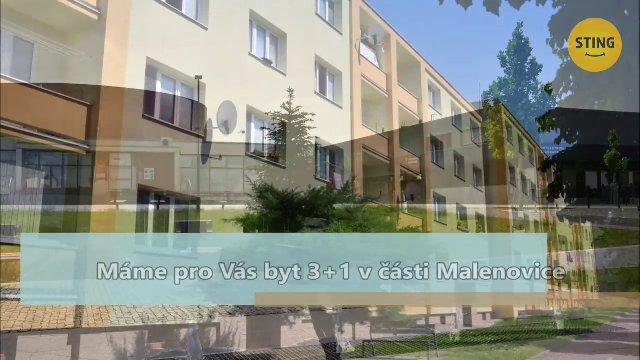 Byt 3+1 na prodej, Zlín / Malenovice, ulice Husova